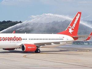 Corendon Airlines İzmir Uçuşlarına Başladı