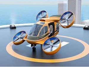 Otomotiv için ürettiği parçaları uçan takside kullanacak!