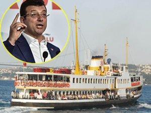 Ekrem İmamoğlu, İstanbul'da yeni deniz hatları açacaklarını duyurdu