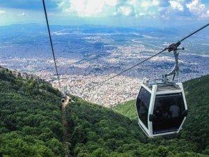 Bursa'da Karnesini Getirene Teleferik Ücretsiz