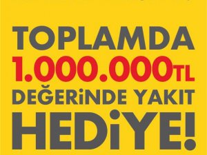 Shell'den 1 milyon TL değerinde hediye yakıt kampanyası