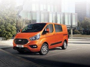 Yeni Ford Transit ve Custom modelleri ileri teknoloji ve verimli motorlarıyla Türkiye'de