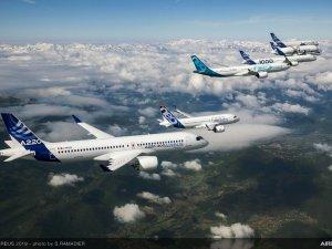 Airbus'ın yeni ticari uçakları, Paris Air Show'da büyük ilgi gördü