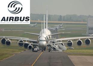 Merkel, Airbus'tan 3,5 milyar dolara uçak alacak