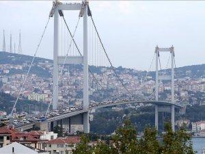 '15 Temmuz Şehitler Köprüsü'nde çalışma yok'