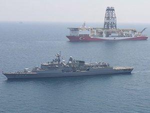 'Yavuz' sondaj gemisi, Mersin açıklarına demir attı