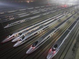 Çin Devlet Demiryolları iki ayda 720 milyon yolcu taşıyacak