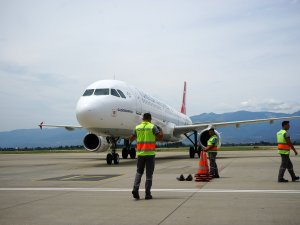 Koca Seyit Havalimanı'ndan 6 ayda 152 bin 45 yolcu yararlandı