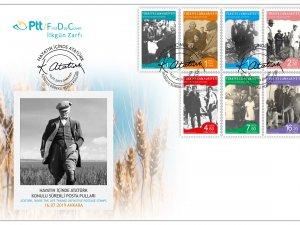Atatürk Konulu Sürekli Posta Pulları