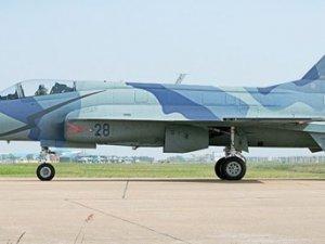 Azerbaycan'da eğitim için havalanan savaş uçağı düştü