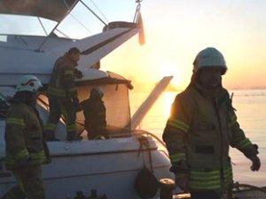 Ataköy ve Pendik'deki marinalarda yangın çıktı