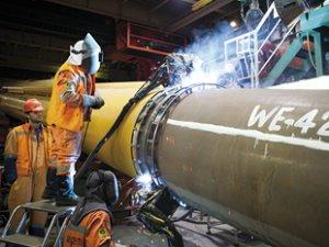 Gazprom, Kuzey Akım 2'yi yıl sonuna kadar tamamlamayı planlıyor