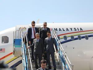 Malezya Başkanı Muhammed Sabiha Gökçen Havalimanı'nı ziyaret etti