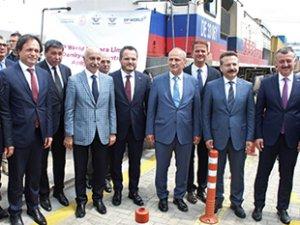 DP World Yarımca Limanı Demiryolu Bağlantısı açıldı