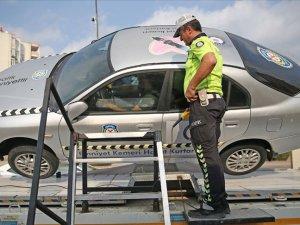 Emniyet kemeri takmayan sürücüler sonuçları tecrübe etti
