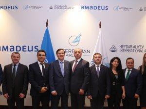 Amadeus ve Haydar Aliyev Uluslararası Havalimanı'ndan 'bulut' ortaklığı