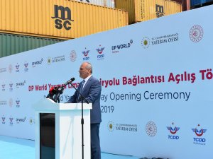 Kocaeli Yarımca Limanı'na İlk Tren Yüklemesini Medlog Lojistik Yaptı