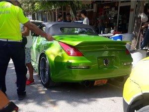 Yurt dışından gelen sürücüye 5 bin lira 'plaka' cezası