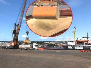 'Aleksey Afanasyev' isimli gemi, Erdemir Limanı'na yanaştı
