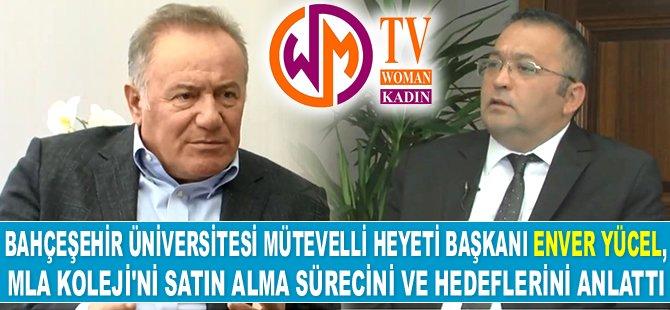 Enver Yücel, projelerini Woman TV'ye anlattı