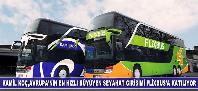 Kamil Koç, Avrupa'nın en büyük ve en hızlı büyüyen seyahat girişimi FlixBus'a katılıyor