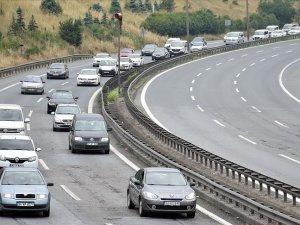 Anadolu Otoyolu'nda 20 Eylül'e kadar yenileme çalışması yapılacak