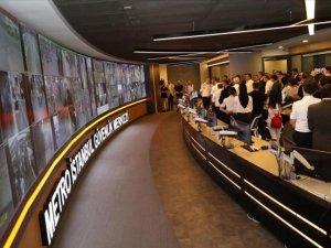 İstanbul'un metro ağı 7 bin kamerayla izleniyor