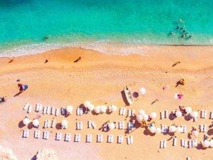 Temmuzda 6,6 milyon turist geldi