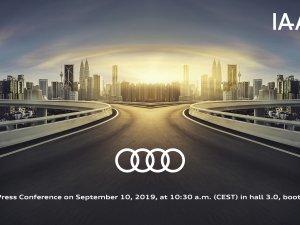Audi'den Frankfurt Otomobil Fuarı'nda iki dünya lansmanı