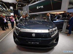 Çinli elektrikli otomobil şirketi Byton yeni modelini Frankfurt'ta sergiliyor