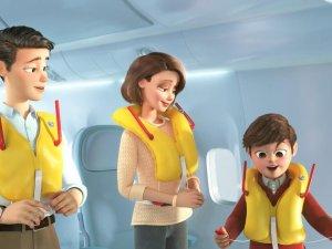 THY yeni uçuş emniyet videosunu yayınladı