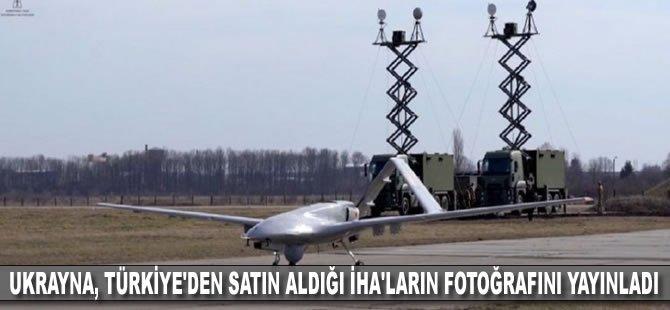 Ukrayna, Türkiye'den satın aldığı İHA'ların fotoğrafını yayınladı
