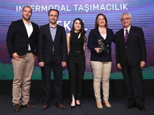 Ekol'ün intermodal taşımacılık modeli 'Sürdürülebilirlik Ödülü' aldı