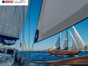The Bodrum Cup filosu yelkenlerini Kissebükü'ne açıyor