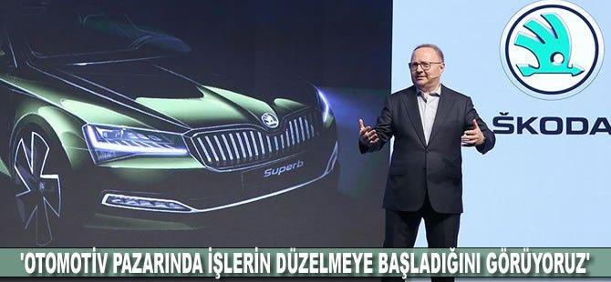 'Otomotiv pazarında işlerin düzelmeye başladığını görüyoruz'
