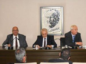 TÜRKLİM Toplantısı, İMEAK DTO İskenderun Şubesi'nde yapıldı