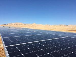 Mardin'in güneşi ile temiz ve yenilenebilir enerji