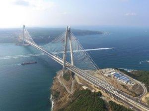 Avrasya Tüneli ve Yavuz Sultan Selim Köprüsü'ne Uluslararası Ödül