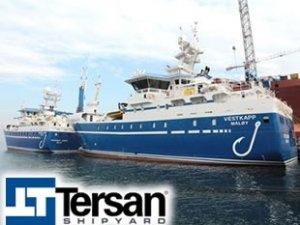Tersan Tersanesi, Ervik Havfiske'ye 2 adet fabrika balıkçı gemisi teslim etti
