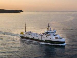 Elektrikli feribot Danimarka'da sefere başladı