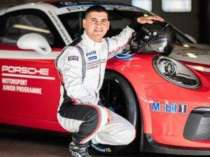 Ayhancan Güven, 'Porsche'nin 2020 genç sürücüsü' seçildi