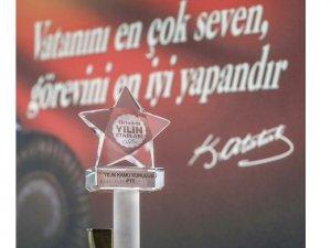 'Yılın Kamu Kuruluşu' ödülü PTT'nin