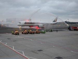 Singapur Hava Yolları İstanbul uçuşlarında A-350-900 ile hizmet vermeye başladı