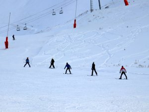 Palandöken kayak sezonuna hazır