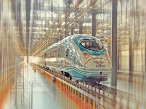 Yeni Yüksek Hızlı Tren Ankara'ya geldi