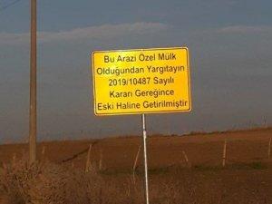 İstanbul'da mahkeme kararı ile sökülen asfalt yol yeniden yapıldı