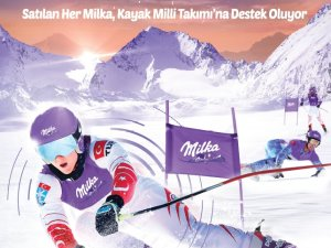 Milka 2020'de de Türk Kayağının destekçisi olmaya devam ediyor
