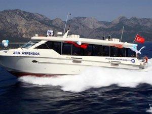 Antalya Büyükşehir Belediyesi, deniz otobüslerini satacak
