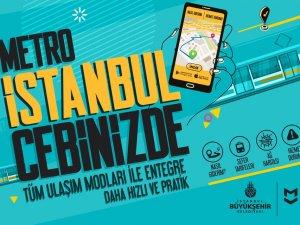 İstanbullular yenilenen mobil uygulamayla metroya daha kolay ulaşacak