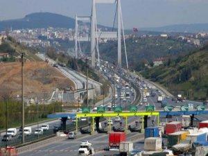 Köprü ve otoyollardan 11 ayda 1,8 milyar lira gelir elde edildi